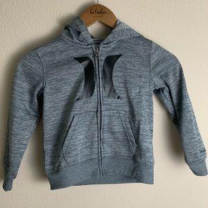 Hurley Full Zipper hoodie size 4T E59